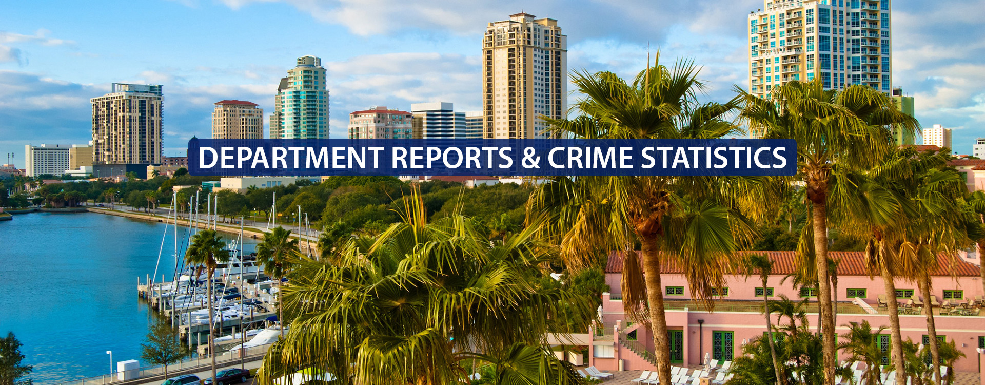 Department Reports and Crime Statistics