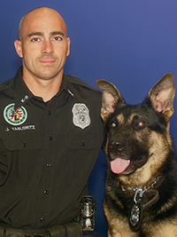 K-9/TAC Officer Jeffrey Yaslowitz